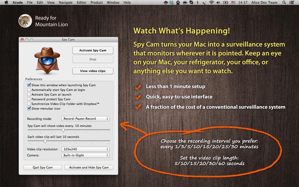 torrent security spy mac