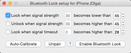 Bluetooth Lock - ZipZapMac
